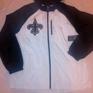 New Orleans Saints Windbreaker Hoodie Jacket New